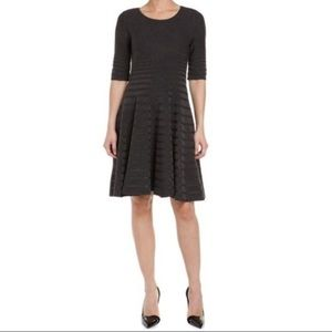 Ivanka Trump Fit & Flare Sweater Dress M